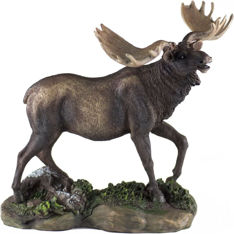 Moose Figurine New