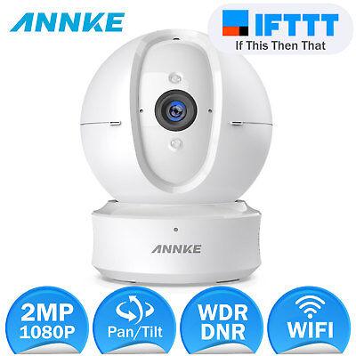 ANNKE 1080P WIFI IP Kamera WLAN Überwachungskamera Passt Alexa IFTTT Fernzugriff
