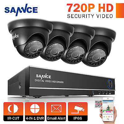 4CH 1500TVL HDMI 720P Video überwachung set DVR Kamera Sicherheitssystem KIT