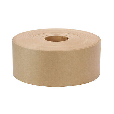 3 X 600 Non-reinforced Gummed Paper Water Activated Carton Box Kraft Tape