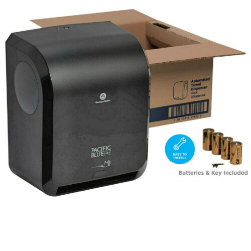 Pacific Blue Ultra 59590 Automated Towel Dispenser Black