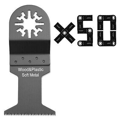 50pcs Oscillating Multi Tool Saw Blades For Makita Fein Milwaukee Bosch Skil