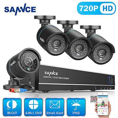4CH 720P HD DVR Überwachungskamera set HDMI 1080N CCTV Videoüberwachung Außen