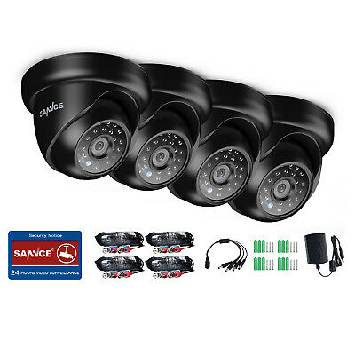 SANNCE 1080P In/ Outdoor 2MP IR Dome for CCTV Home Security