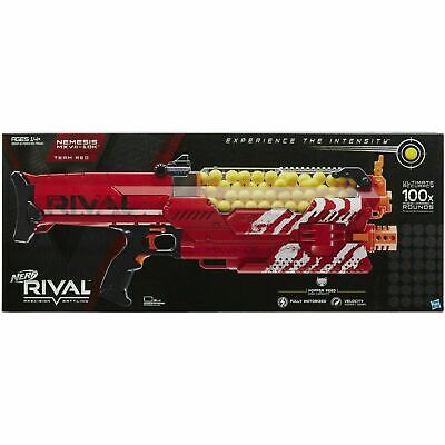 Nerf Rival Nemesis MXVII 10K Red Fully Motorized NIB