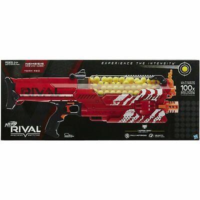 Nerf Rival Nemesis MXVII 10K Red Fully Motorized NIB