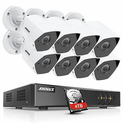 ANNKE 3MP Überwachungskamera 8CH DVR Außen Kamera Motion Alarm Nachtsicht H.265+ Kameras Dvr Cd