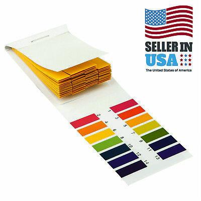 1 Pack 80 Ph Test Strips Litmus Test Paper Full Range Acidic Alkaline 1-14