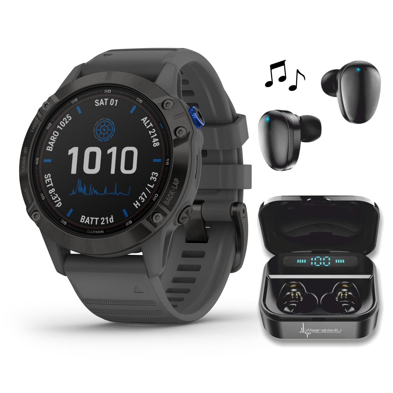 Garmin Fenix 6 Pro Solar Premium Multisport GPS Smartwatch B
