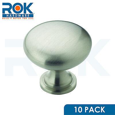 10 Pack Satin Nickel Amerock Allison Cabinet Cupboard Door Knob Pull BP53005G10