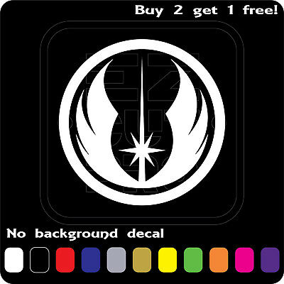 Star Wars Sticker Vinyl Decal Jedi Order Die Cut Car Window Wall Buy2 Get1 Free](Star Wars Decals)