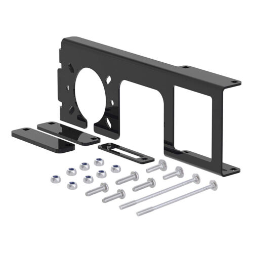 Easy-Mount Vehicle Trailer Wiring Harness Connector Mounting Bracket