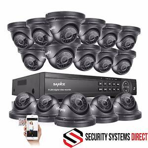 16 CHANNEL 1080P AHD SECURITY SYSTEM DVR WITH 16 X 2 MP CAMERAS Darwin CBD Darwin City Preview
