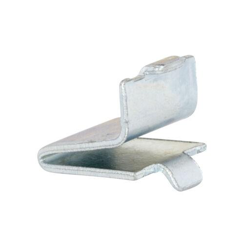 20 Pack Zinc Rok Adjustable Steel Pilaster Shelf Support Clip ROKPILCLP