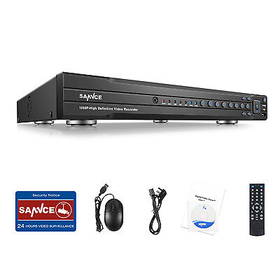 SANNCE 16CH HD 1080P HDMI DVR Digital Video Recorder for Home ground CCTV Structure QR P2P