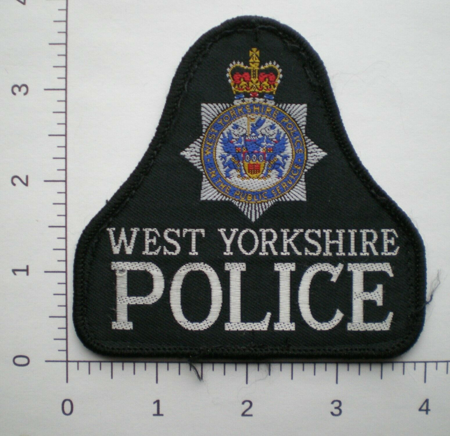 UK United Kingdom Britain West Yorkshire Constabulary Police British Patch - $5.99