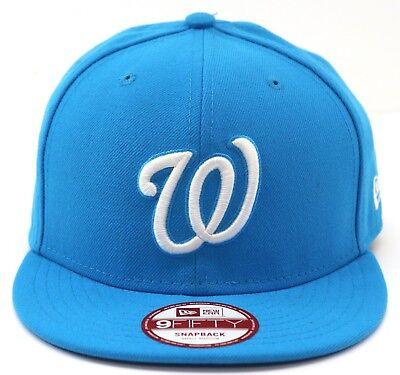 New Era Men's Baseball Cap 9Fifty Snapback Hat League Basic Washington Nationals