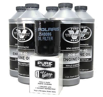 - 2003-2012 Victory Vegas 8-Ball Oil Change Kit