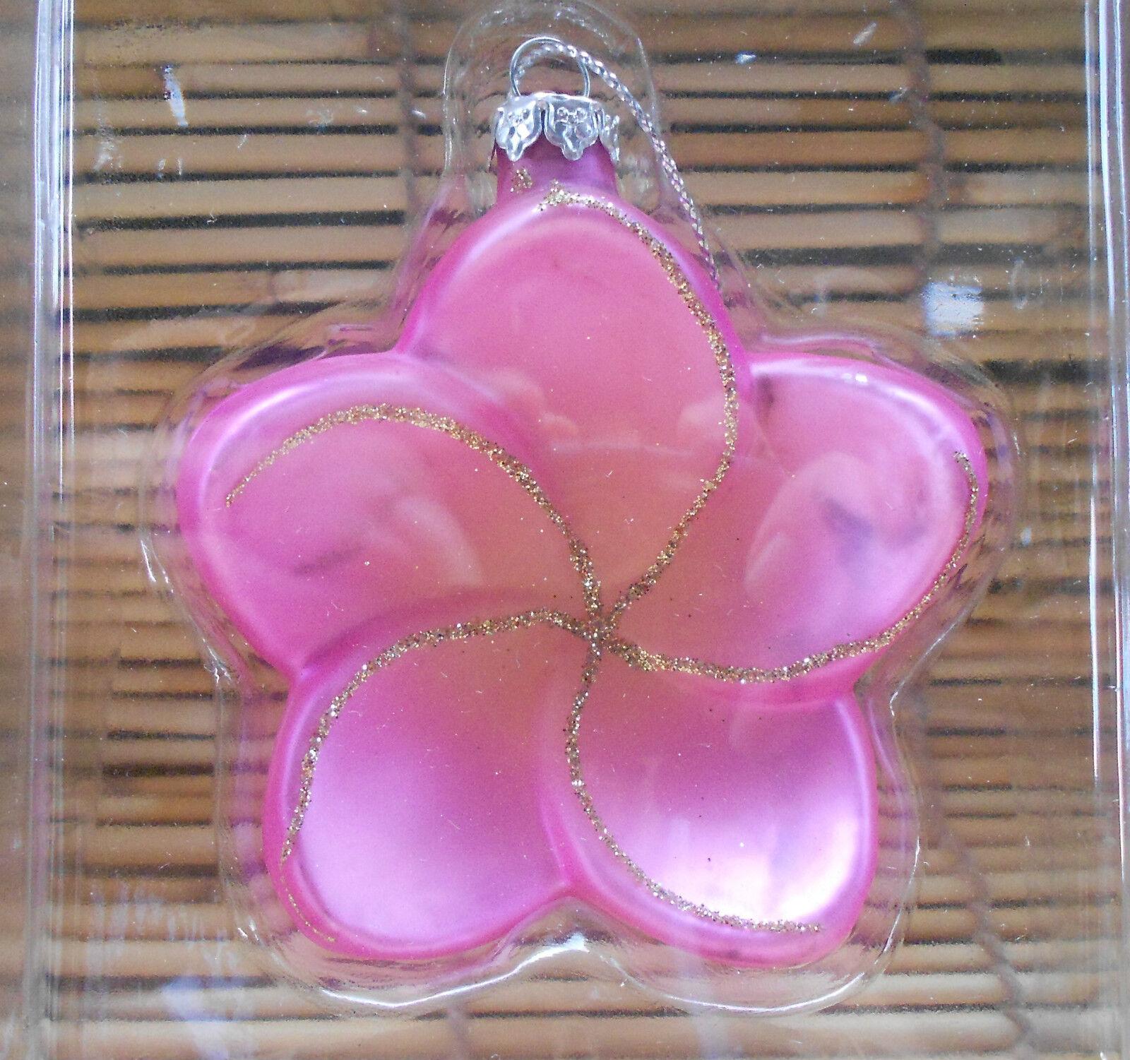 Nib Hawaii Designed Chinese Friends Glass Christmas