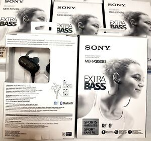 Sony Extra Bass Wireless Sports In-Ear Headphones