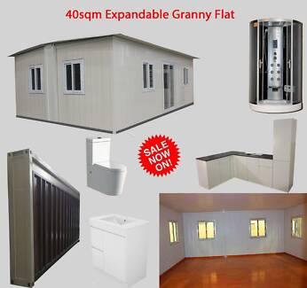 Granny Flats EXPANDABLE  2 HOUR SETUP 1 WEEK FINALISE