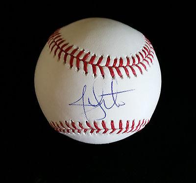 JON LESTER 'CHICAGO CUBS' 2016 NLCS PITCHER SIGNED MLB BASEBALL *COA (Jon Lester Pitcher)
