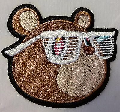 "Kanye West Yeezus Bear 3.5"" embroidered Iron On patch Yeezy"