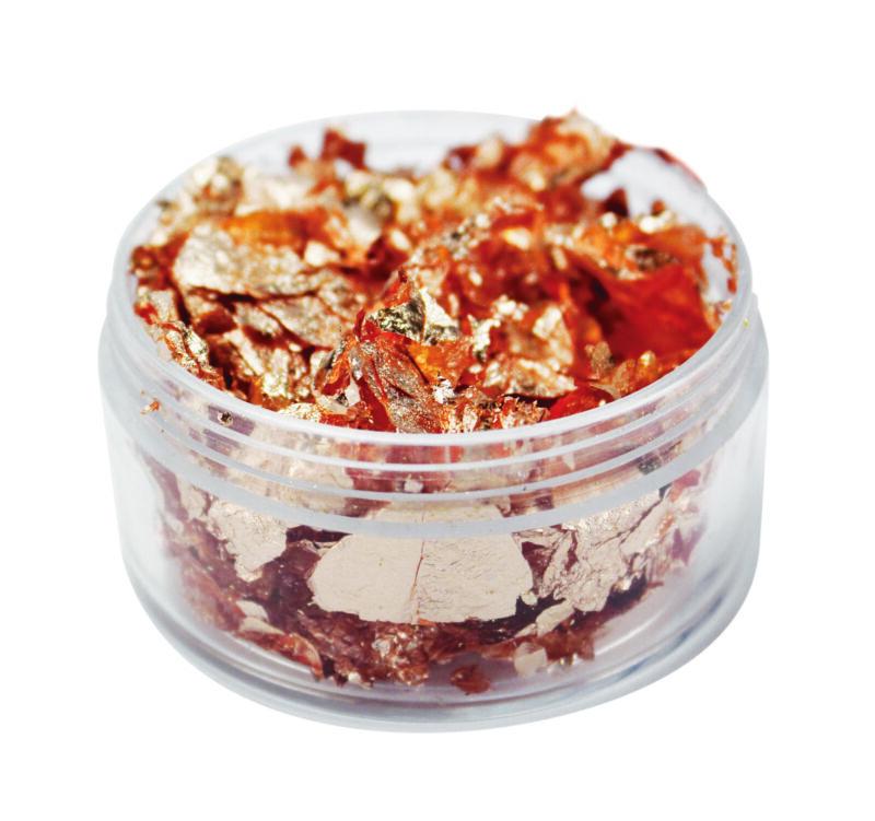 Shavings To Gold Gilding IN Flake Copper 0.0212oz - Megacrea DIY
