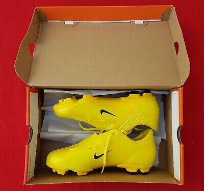 NIKE Mercurial Steam Jnr FG  FOOTBALL BOOTS Size UK4.5/EU 35.5 Neon Yellow BNIB