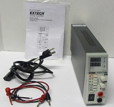 Extech Model 382260 80w 3-in-1 Switching Dc Power Supply