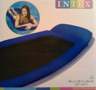 Wasser-lounge (Intex Mesh Blau Relaxe Lounge Schwimmliege Strand Pool Wasserhängematte , (K))