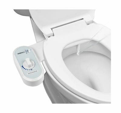 Greenco Bidet Fresh Water Spray Non-Electric Mechanical Bidet Toilet Seat Att...