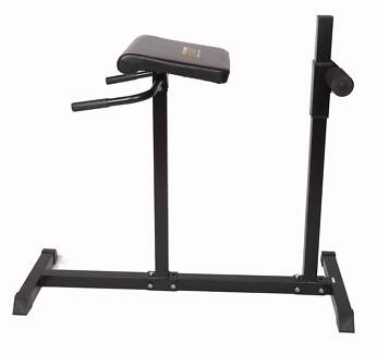 Roman Hyper Extension Bench Chair Exercise Fitness Workout Core A