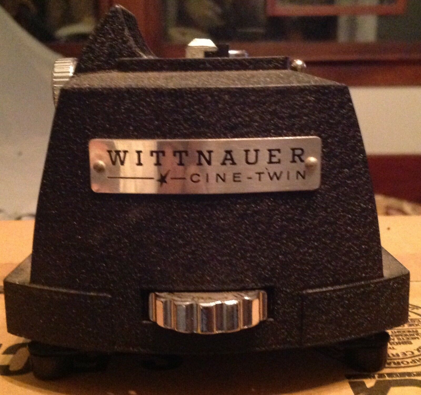 the wittnauer cine twin combo projector camera Wittnauer was actually a famous jeweler of all things, and the expensive cine-twin was only sold in jewelry stores interesting extra: even before the cine-twin, the cinématographe film camera/projector/developer was invented by french inventor, léon bouly, back in 1892.