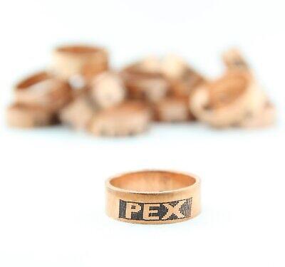 100 34 Pex Copper Crimp Rings Usa 649x3 Sioux Chief