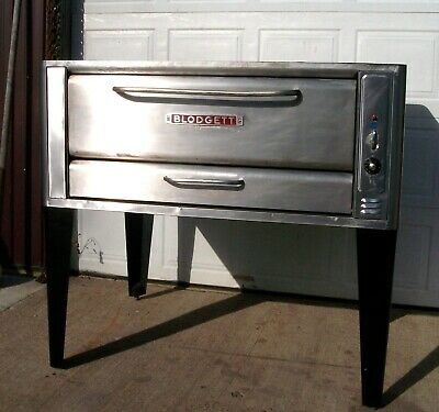 Blodgett 1048 High 120000 Btus Natural Deck Gas Double Pizza Oven New Stone