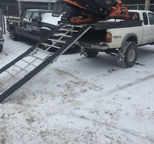 Aluminum Sled Deck With Ramp