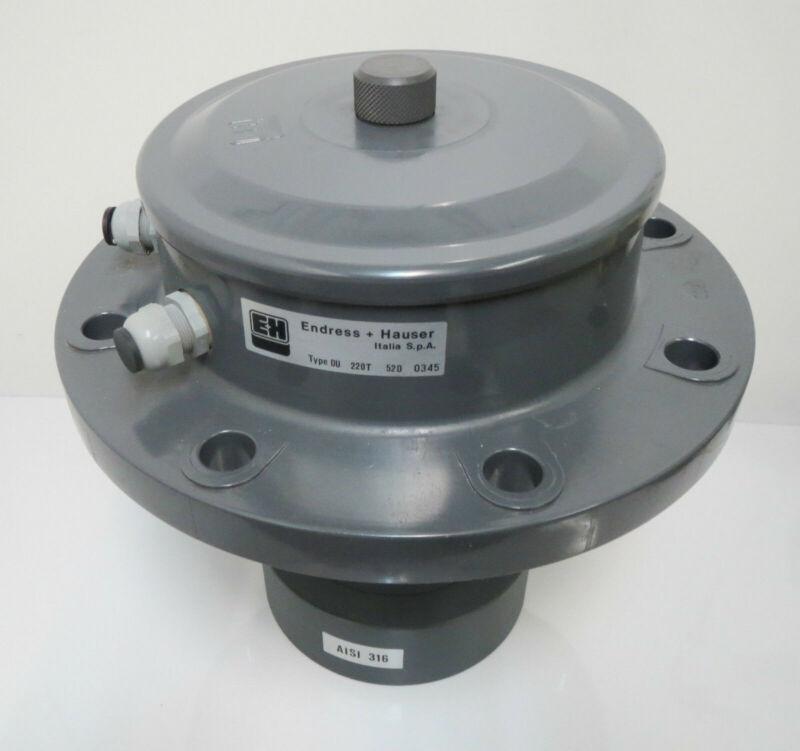 Endress+Hauser DU220T DU 221T 52D Ultrasonic Level Sensor Vibration DN200 NEW