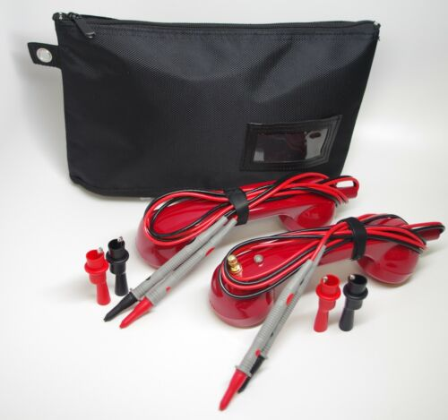 TE002-Red Loop Check Cable Tracer Toner Electrician Continuity Test Phone Set