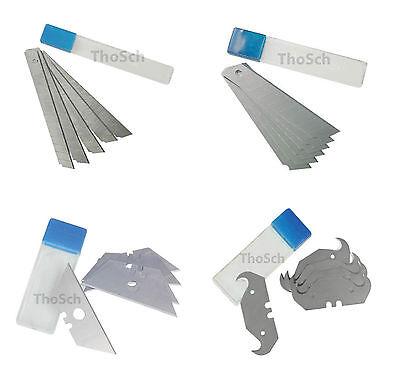 Cuttermesser Ersatzklingen Trapezklinge Hakenklinge Abbrechklingen Teppichmesser