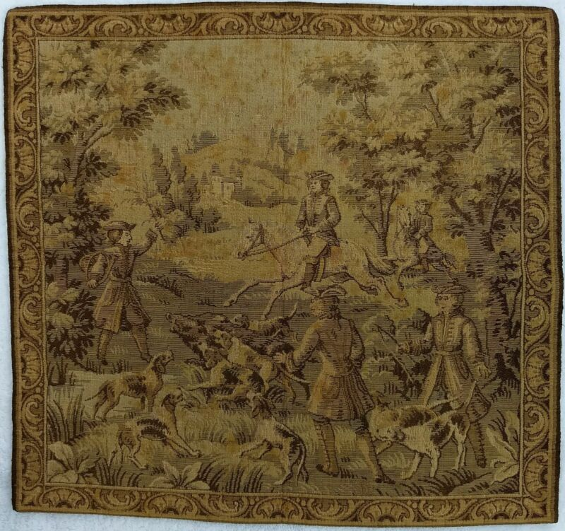 Antique Wall/Table Tapestry