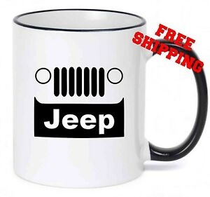 Jeep Mug, Gift for coffee lover