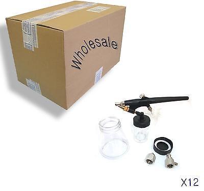 Spray Gun Hobby (Airbrush hobby craft mini spray gun nails T shirts car body repair WHOLESALE X12)
