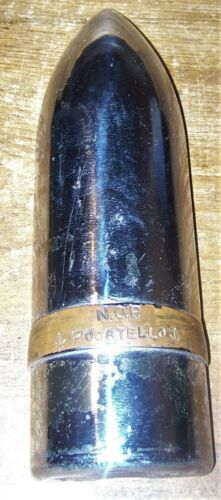 1945 WWII NAVAL ORDINANCE PLANT POCATELLO IDAHO ARTILLERY SHELL DISPLAY US NAVY