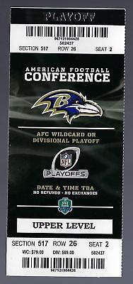 154e39ed Ticket Stubs - Ravens Full Nfl Game Ticket - Trainers4Me