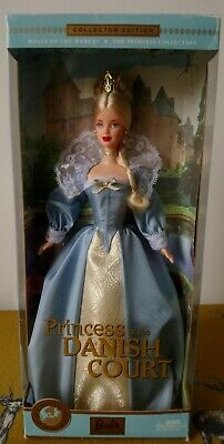 2002 Collector Edition ~ PRINCESS OF THE DANISH COURT Barbie ~ Rare In UK ~ NRFB