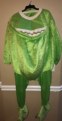 Disney Store Monsters Inc. Mike Wazowski Plush Costume 2002 Halloween So (Disney Mike Wazowski Kostüm)