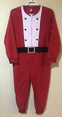 Jammies For Your Families Women Santa Claus One Piece Pajama Christmas Sz - Xmas Pjs For Family