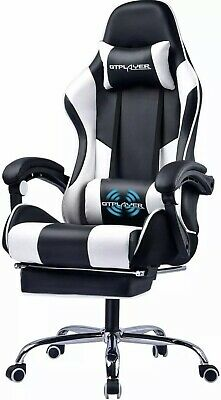 Gt Player Oc-rc1-white High Back Gaming Chair