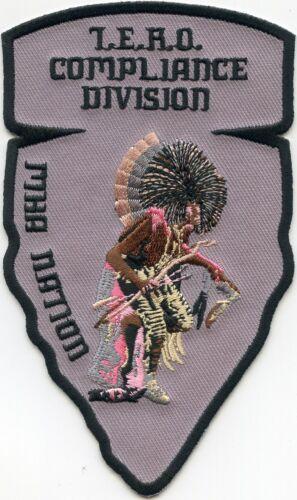 MANDAN HIDATSA ARIKARA NATION NORTH DAKOTA ND COMPLIANCE TRIBAL POLICE PATCH
